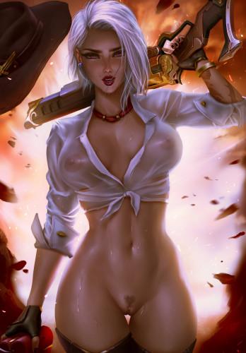 Logan Cure vol 2 [Pinup,Big tits,Posing]