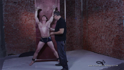 48 Best Clips RusCapturedBoys. Part 5. [2019,Gay BDSM]