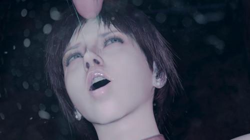 Rebecca Chambers Throated [2021,All sex,3D]