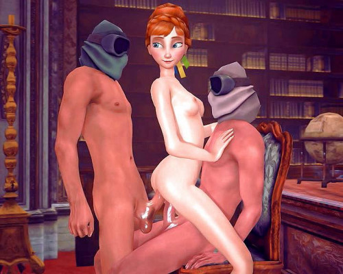 Anna and Elsa in hot cartoon collection [2017,Monsters,Creampie,3D]
