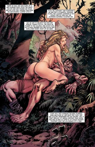 Jungle Fantasy [Double penetration,Piercing.,BJ]