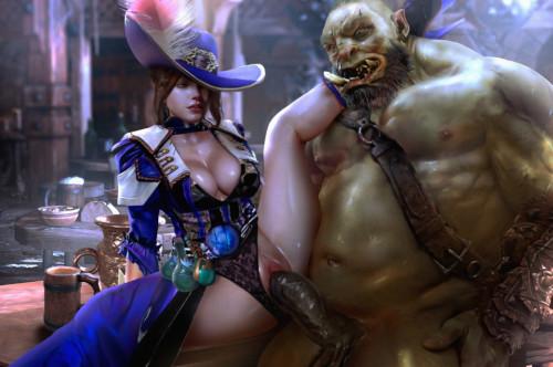 Negisaray Collection [big breasts,collar,big penis]