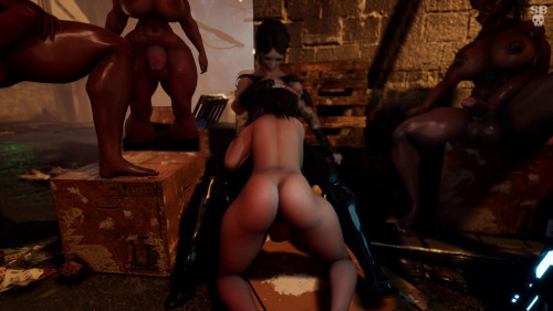 Laersect [2018,Blowjob,dickgirl on male,Big Cock]