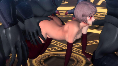 Princess Knight [2017,Anime,Double Penetration,Anal]