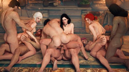XieAngel collection [xieangel,group sex,interracial]