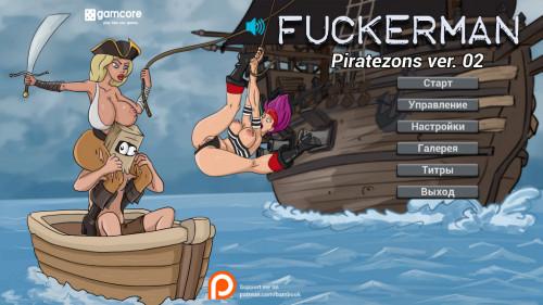 Fuckerman: Piratezons Ver. 0.2 [2019,Male Protagonist,Puzzle,Titsjob]