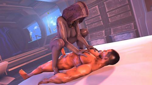 Tali'Zorah nar Rayya - Mass Effect Assembly - 720p [2018,Pregnant,Monsters,All Sex]