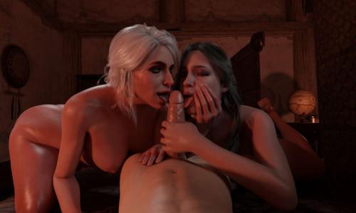 AlmondSFM collection [3D Porn Comic,big breasts,animation]
