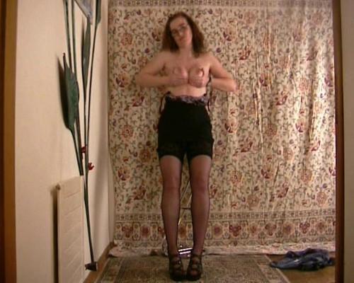 Amateur old stripper