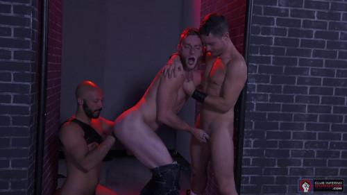 CID - Fistin Alley - Scene #03 - Dylan Strokes, Sebastian Keys & Ashley Ryder
