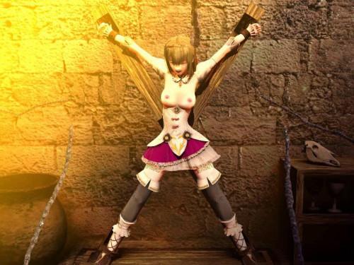Princess prison - Sexy 3D [2014,Tortures,X-ray,Yuri]