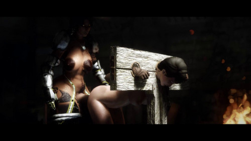 Last Shack On The Left [2016,BDSM,Skyrim,Bondage]