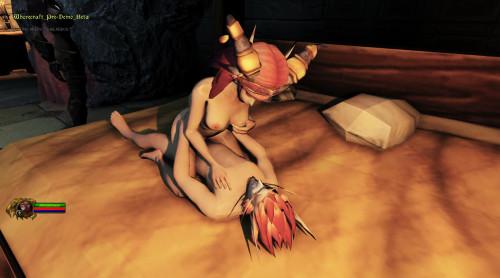 WhoreCraft [3D,Big tits,RPG]