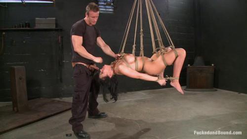 Fucked and Bound part 4 [2014,BDSM,FuckedAndBound,Bobbi Starr,Double Penetration,Gangbang,BDSM]