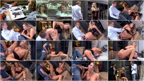 Hot Sex With Busty Blonde In A Warehouse