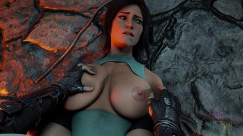 Lara's Capture [2021,Feet,Tifa Lockhart,3DCG]