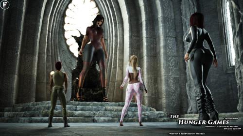 FaTerGD - The Hunger Games 1-5 [faterkcx,tall girl,fatergd]