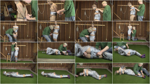 HD Bdsm Sex Videos Tape Bound In The Warehouse