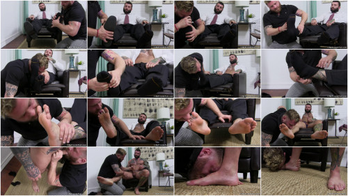 Boss Markus Worshiped Until He Cums