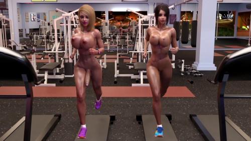 Gym Rats [Glasses,Futanari,Animation]