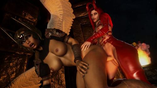 Angels Demons scene 2 [2020,3D,All sex]