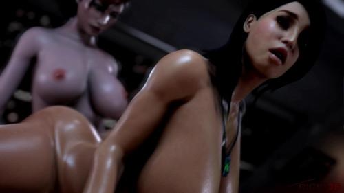 Ashley Fucked by Futa Femshep
