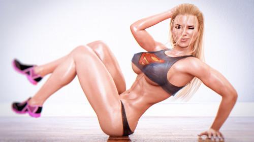 Darvarq Artwork With Gorgeous 3D Girls [hot babe,darvarq,hot girl]