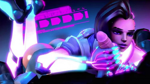 Best Animated Porn Compilation - Overwatch Ebony Edition [3d]