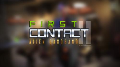 GoldenMaster - First Contact 11 [fisting,futanaria,3D Porn Comic]