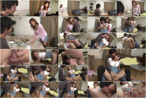 Cheating wife aihara miho has a squirting big o