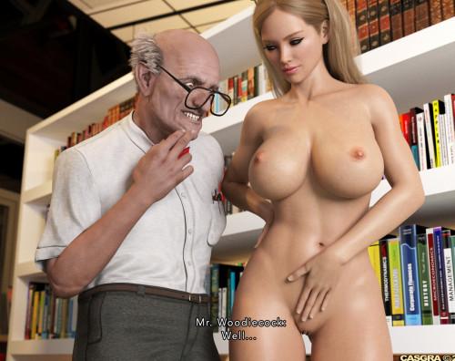 Casgra - Adult Education [domination,milf,old man]