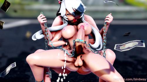 Birdway Futanari 3D Porn Pack part 3 [2019,Anime and Hentai,Big Dick,Anal,MMD]