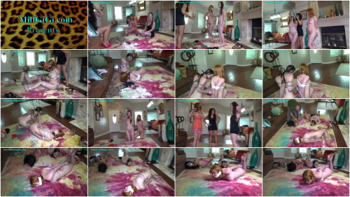 Three helplessly hogtied & sold