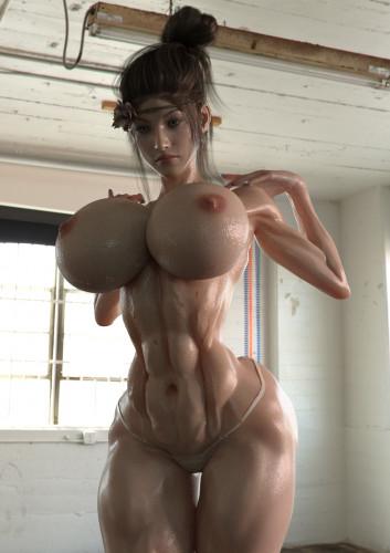 Katie 3DX [big ass,t-girl,pinup]