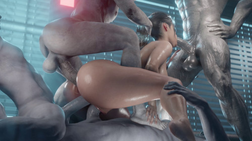 Aanix collection [monster,3dcg,vaginal sex]