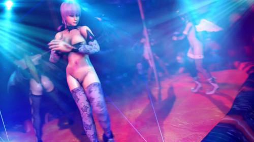 Honoka Strip Club [Big Ass,Oral,Dildo]