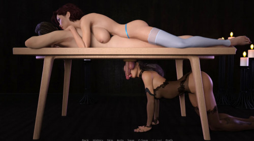Lana And The Milking Table Version 0.70 [2021,Male protagonist,Oral sex,3DCG]