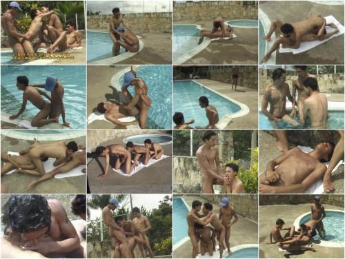 Latin Pool Orgy