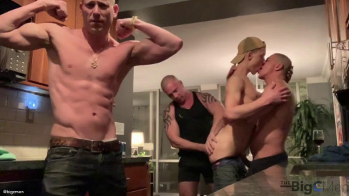 Big C Introduces Hoss Kado To The Tatted Muscle  Couple Part 1