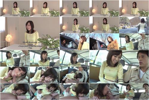 Hitchhiker shiori yamate sucks 10-pounder and receives cum