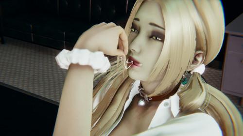 Blonde Heaven - Ivana [handjob,stockings,h4r3m]