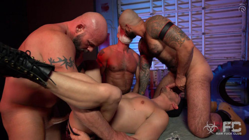 Alessio Vega vs Three Muscle Daddies