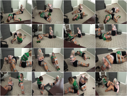Sandra Silvers and Leya Struggling Secretaries Strictly Duct Taped (2017)