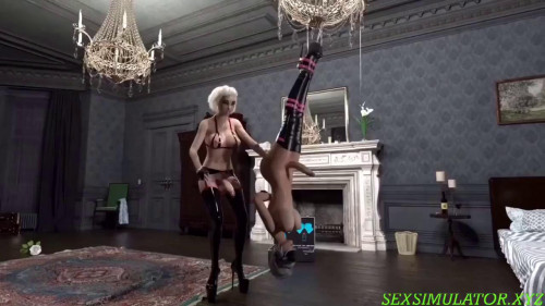 Bound shemale fucked in the throat [2019]