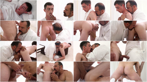 MormonBoyz - Elder Lund - Initiation (with President Ballard)