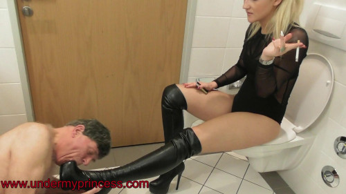 Dear Slave, Urine and Pain Wait You [2019,Femdom and Strapon,Ass Worship,Strapon,Foot Worship]