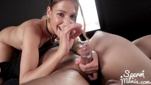 Alexis Crystal Strokes with Cum