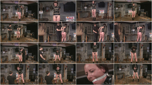 Tying, strappado, spanking and castigation for bare angel part FIRST