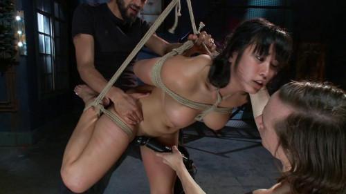 Fucked and Bound part 5 [2015,BDSM,FuckedAndBound,Bobbi Starr,Double Penetration,Gangbang,Bondage]