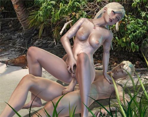 Interns Of  Island Version 0.301 [2021,Adventure,All sex,Big Tits]